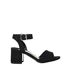 Dorothy Perkins - Wide fit black sabrina block heel sandals