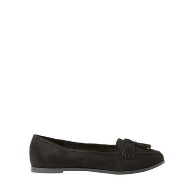 Dorothy Perkins - Wide fit black lane loafers