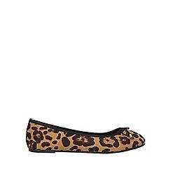 Dorothy Perkins - Wide fit leopard pandora pumps