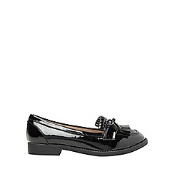 Dorothy Perkins - Wide fit black lotta loafers