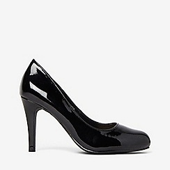 Dorothy Perkins - Wide fit black dallas court shoes