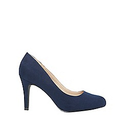 Dorothy Perkins - Wide fit navy dallas court shoes