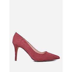 71c90f39815 Dorothy Perkins - Wide fit burgundy electra court shoes