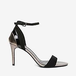 Dorothy Perkins - Wide fit black bravo sandals
