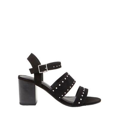 Dorothy Perkins - Wide fit black star sandals