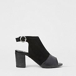 Dorothy Perkins - Wide fit black steffy sandals