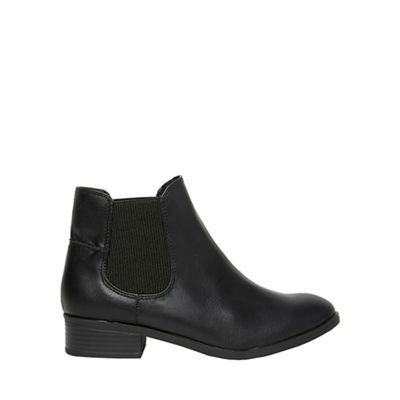 Dorothy Perkins - Widefit black monty chelsea boots