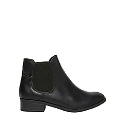 Dorothy Perkins - Widefit black monty chelsea boots