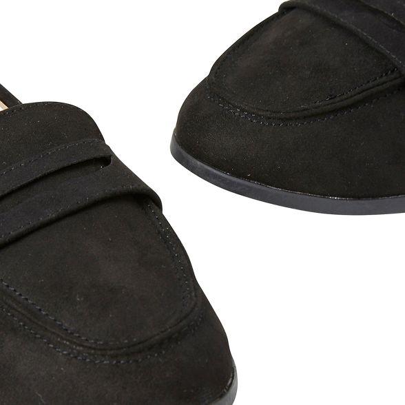 black Dorothy loafers latte Wide fit Perkins 0twqftWv