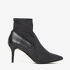 Dorothy Perkins - Wide fit black motion ankle boots