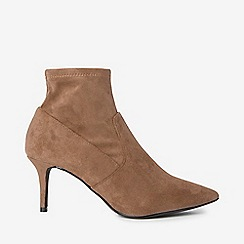 Dorothy Perkins - Wide fit taupe motion boots