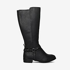 Dorothy Perkins - Wide fit black talia riding boots