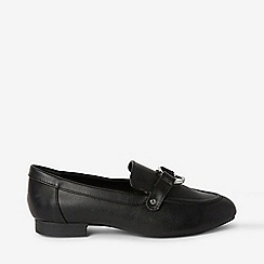 Dorothy Perkins - Wide Fit Black Loyal Loafers