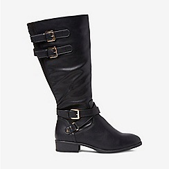 Dorothy Perkins - Wide fit tilley riding boots