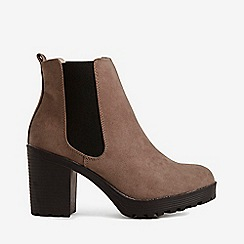 Dorothy Perkins - Wide fit taupe ainsley boots
