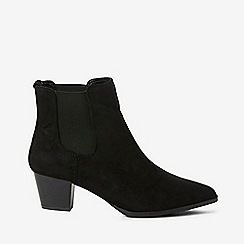 Dorothy Perkins - Wide fit black mayfair Chelsea boots