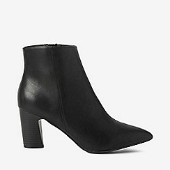 Dorothy Perkins - Wide fit black adrienne boots