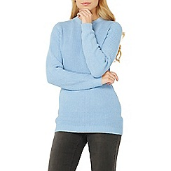 Dorothy Perkins - Chambray bow back jumper