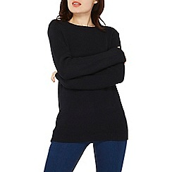 Dorothy Perkins - Navy bow back jumper