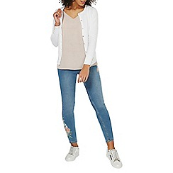 Dorothy Perkins - White long sleeve cardigan