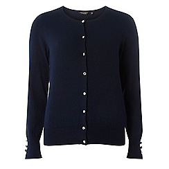 Dorothy Perkins - Navy cotton cardigan