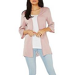 Dorothy Perkins - Pink broderie back cardigan