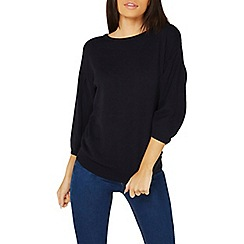 Dorothy Perkins - Navy tie back jumper