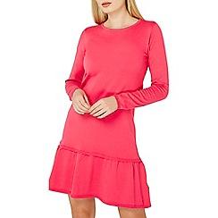Dorothy Perkins - Raspberry frill hem dress