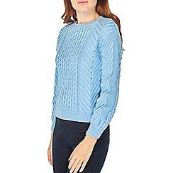 Dorothy Perkins - Light blue colour pop jumper