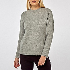 Dorothy Perkins - Grey Crew Neck Jumper