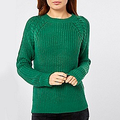Dorothy Perkins - Cable shoulder jumper