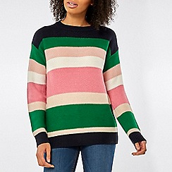 Dorothy Perkins - Multicolour wide stripe jumper