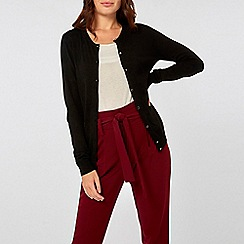Dorothy Perkins - Black Button Cardigan