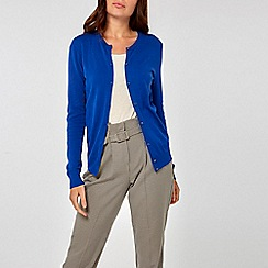 Dorothy Perkins - Cobalt button cardigan