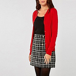 Dorothy Perkins - Red Button Cardigan