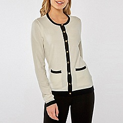 Dorothy Perkins - Black Trim Cardigan
