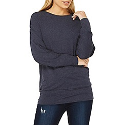 Dorothy Perkins - Denim batwing soft touch top