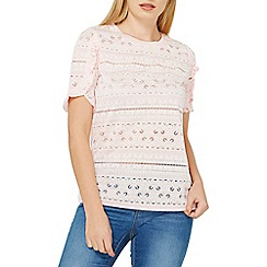Dorothy Perkins - Pink transparent print t-shirt