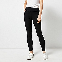Dorothy Perkins - Black cotton leggings