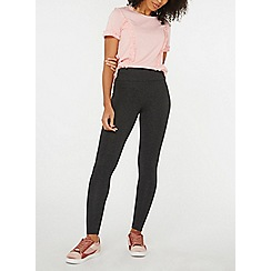 Dorothy Perkins - Charcoal cotton leggings