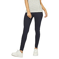 Dorothy Perkins - Navy cotton leggings