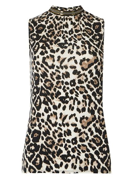 top Perkins leopard shell Dorothy Brown print PTXBq