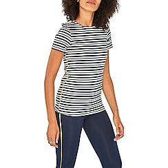 Dorothy Perkins - Navy striped t-shirt