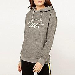 Dorothy Perkins - Grey manhattan motif hoodie