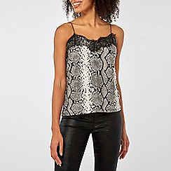 Dorothy Perkins - Snake lace trim cami top