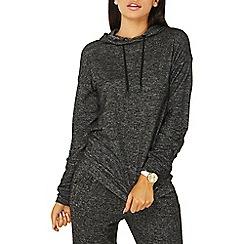 Dorothy Perkins - Charcoal crisscross hoodie