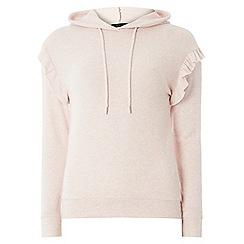 Dorothy Perkins - Pink frill hoodie