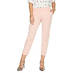 Dorothy Perkins - Blush slim tailored ankle grazer trousers