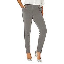 Dorothy Perkins - Grey fob trim slim trousers
