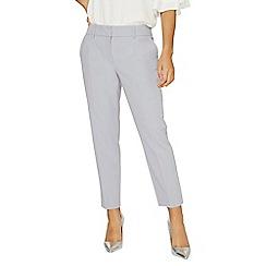 Dorothy Perkins - Silver split hem ankle grazer trousers